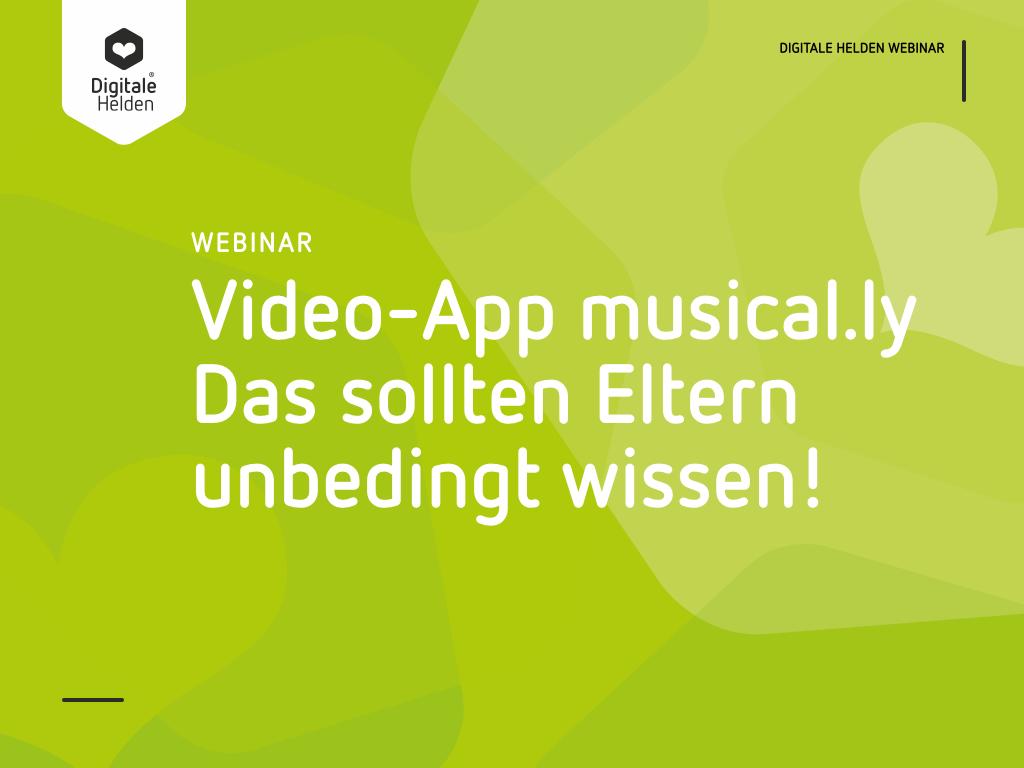 Video-App musical.ly - das sollten unbedingt Eltern wissen
