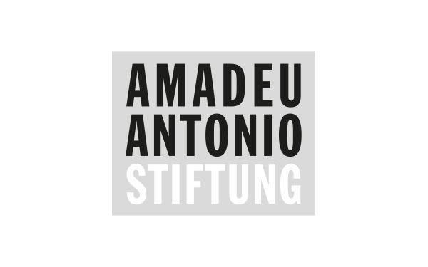 Logo Amadeu Antonio Stiftung